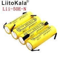 Liitokala 21700 5000mA Li Ion Batteria Lii 50E N 3.7V Scaricatore 35A di Potenza Della Batteria E Tools Batteria