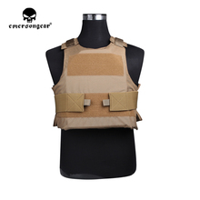 купить emersongear Emerson Tactical Assult Plate Carrier LAVC style Lightweight Vest Hunting Military Wargame Protective Inside Carrier онлайн