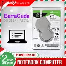"Seagate 2 테라바이트 2.5 ""내장 HDD 노트북 하드 디스크 드라이브 7mm 5400RPM SATA3 6 기가바이트/초 128MB 캐시 내장형 HDD ST2000LM015"