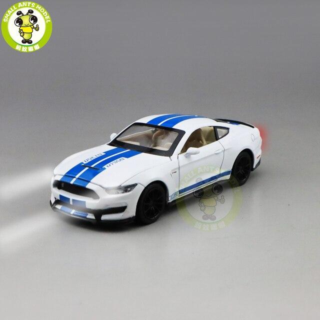 1/32 Mustang Shelby GT350 Diecast Xe Ô Tô Mô Hình Đồ Chơi Trẻ Em Bé Trai Bé Gái Trẻ Em Quà Tặng