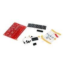 1Hz-50MHz Digital LED Crystal Oscillator Tester Frequency Counter Meter RF Electronic DIY Kits Tools PCB Board Module стоимость