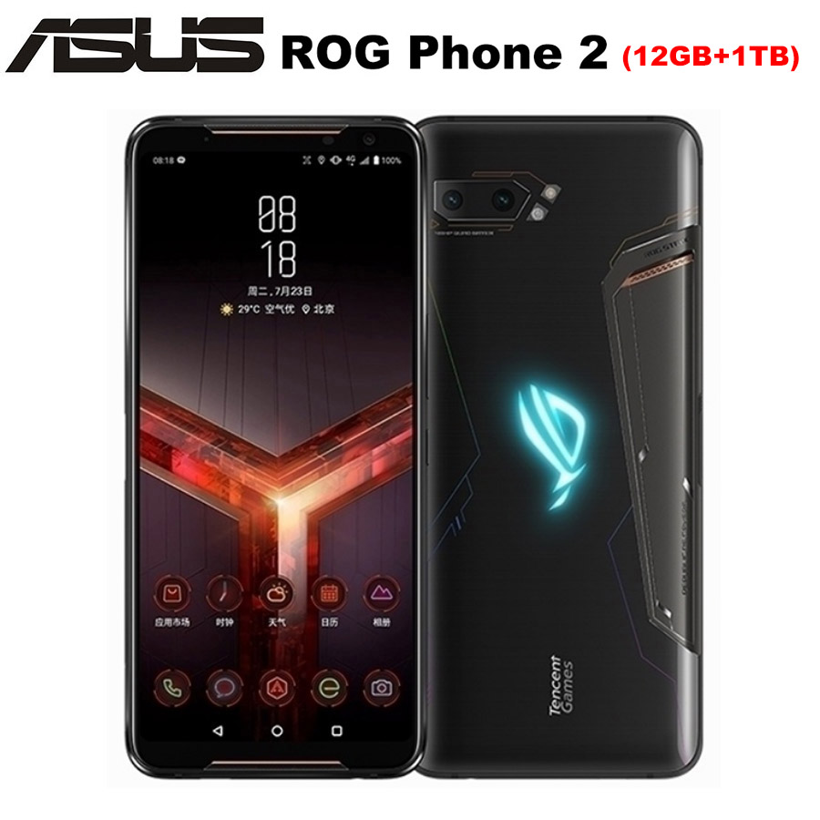NEW Asus ROG Phone II ZS660KL Mobile Phone 6.59