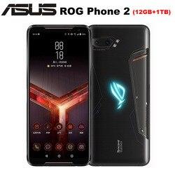 Novo asus rog telefone celular ii zs660kl 6.59