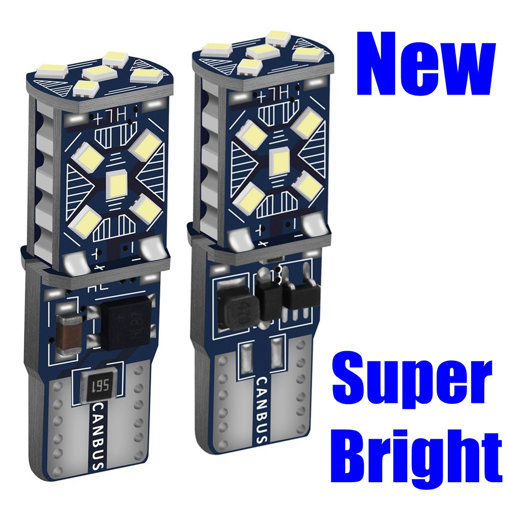2PCS T10 W5W New Super Bright LED Car Parking Lights WY5W 168 501 2825 Auto Wedge Turn Side Bulbs Car Interior Reading Dome Lamp(China)
