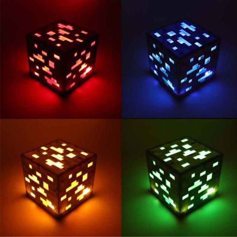 3D Four-color Optional Led Light Cube Kit With Excellent Animation Effects 3D 7.5x7.5x7.5 Gift Led Display Electronics