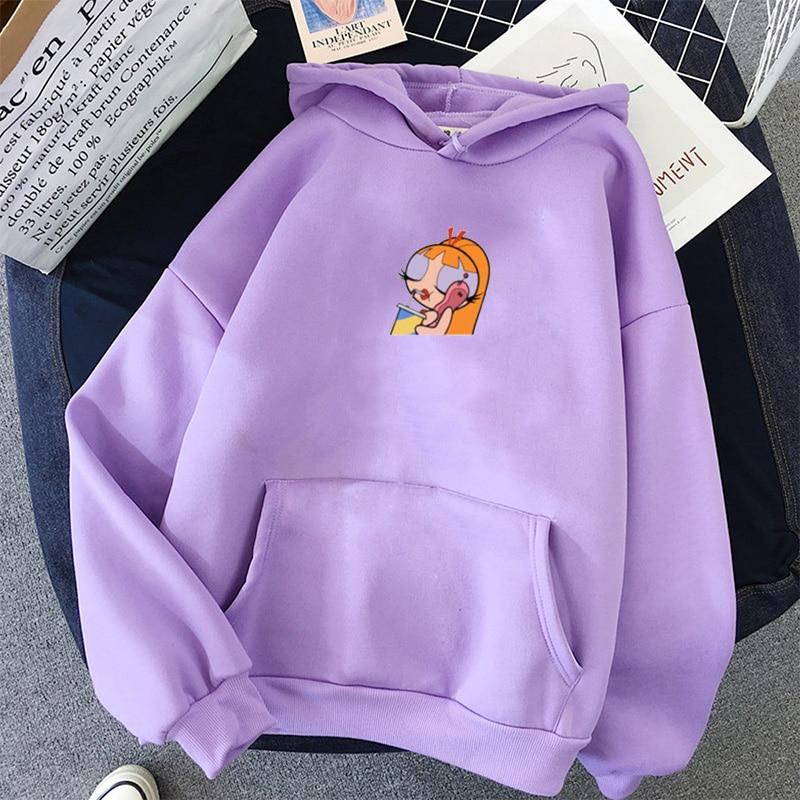 oversized Sweatshirt spring Streetwear Printing Hoodies Pullovers 2020 Fashion Harajuku Winter Hoodie Women Loose Korean Style 27
