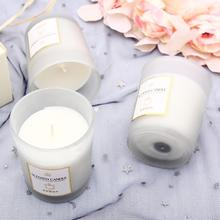 Aromatherapy Candle European style Romantic Handmade Aromatherapy Candle Hand Gift Natural Plant Essential Oil Smokeless Soy Wax aroma candle soy wax colorful aromatherapy ice cream jelly candle cup decoration