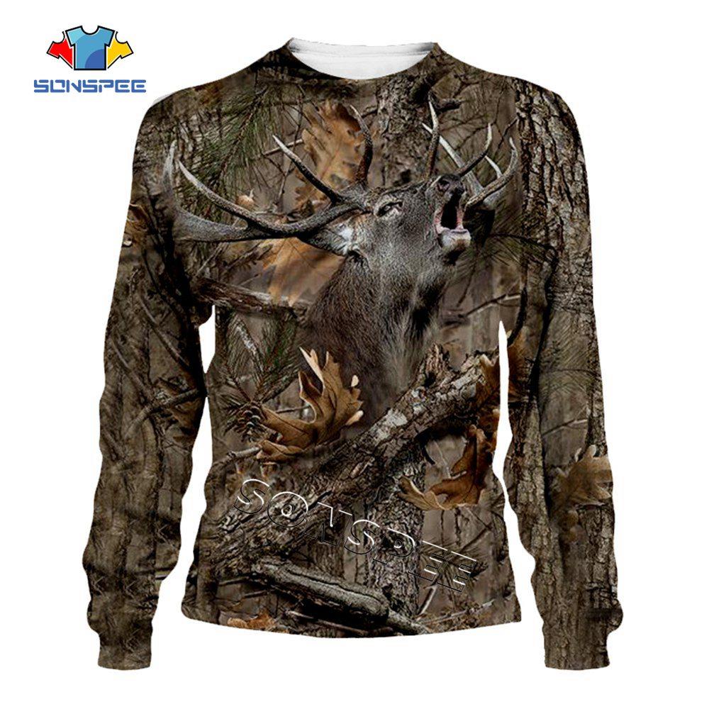 z-New Fashion Streetwear Hip hop Hooded Sweatshirt Long Sleeve Men Women Casual Pullover Camo HUNTING ANIMALS Elk 3D Hoodies Hoody (2)