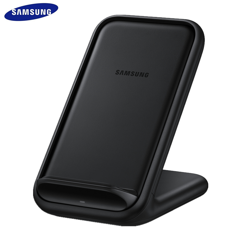 Original Samsung Wireless Charger Qi Stand Fast Charge For Samsung Galaxy S20 10 S9 S8 Plus S7 Note10+/iPhone 11 Plus X,EP-N5200