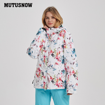 2019 New High Quality Winter Ski Jackets Women Windproof Waterproof Warmth Snowboard Coat Snow Skiing Winter Sportswear Camping