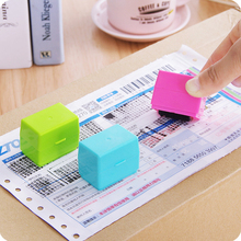 Roller Stamp Self-Inking-Stamp Information Kids Identity Personal 1pcs Toy Theft-Sticks