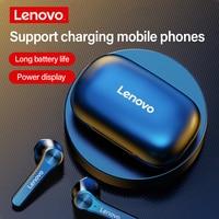 Lenovo QT81 Wahre Drahtlose Ohrhörer Bluetooth 5,0 Kopfhörer Intelligente Touch Control TWS Drahtlose Kopfhörer Typ-C Ladung Original