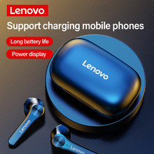 Lenovo QT81 gerçek kablosuz kulaklık Bluetooth 5.1 kulaklık akıllı dokunmatik kontrol TWS kablosuz kulaklık tip-c şarj orijinal