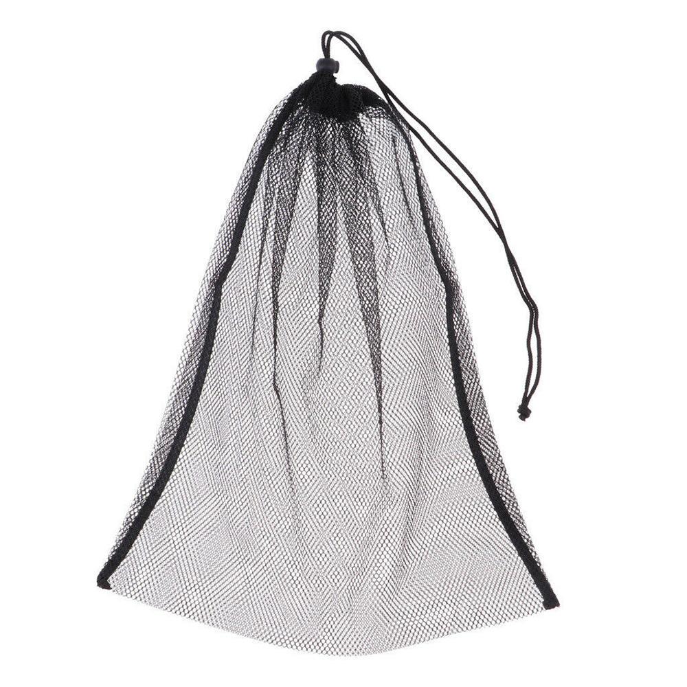 Nylon Mesh Bag Golf Bag Net Bag Table Beam Mouth Closed Mouth Tennis Net Bags For Storing Golf Balls