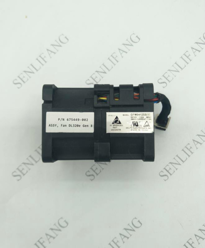 GFM0412SS DD03  675449-002 DC12V Server Cooling Fan For DL320E G8