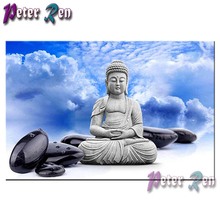 5d Buddha statue Diamond Painting Embroidery DIY full Square/round Mosaic Picture Rhinestone Handmade Home Decoration