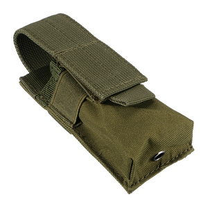 Image 5 - Tactical Molle Flashlight Holster Pouch Single Pistol Ammo Magazine Pouch Torch Case Airsoft EDC Tool Knife Light Holster