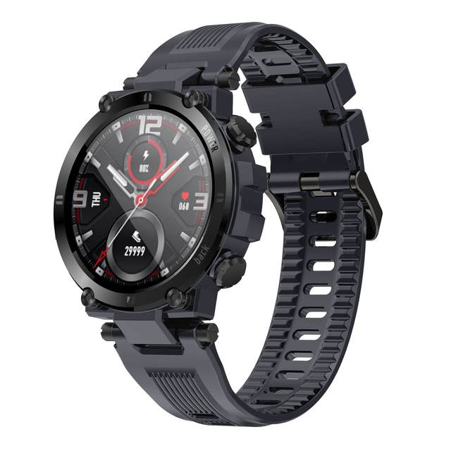 SENBONO 2020 Men Full Touch Screen Smart Watch IP68 Waterproof support HR/BP Fitness Tracker D13 smartwatch for IOS Android