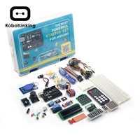 UNO проект супер стартовый набор с учебником, UNO R3 плата контроллера, сервопривод, шаговый двигатель, реле и т. д. для Arduino проектов 2019