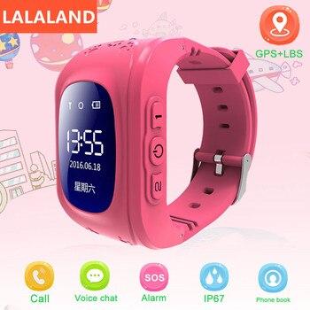 Смарт-часы Anti Lost Q50, OLED, Детский GPS трекер, SOS монитор, позиционирование, телефон, дети, GPS, детские часы, IOS, Android, Локализатор местоположения