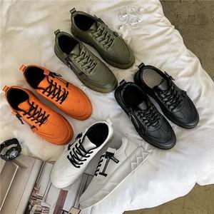 Image 5 - BIGFIRSE Men Casualรองเท้าSolf BreathableสบายManแฟชั่นรองเท้าผ้าใบLoafersใหม่Zapatillas Hombre 2019รองเท้าแฟชั่นผู้ชาย