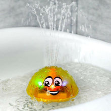 Baby Spray Water Bath Toy Automatic Induction Sprinkler Swimming Pool Lighting Gift Summer Outdoor Funy Play Game Shower Kid