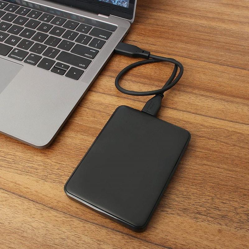 1tb/2tb disco rígido externo portátil hd de alta capacidade sata usb 3.0 dispositivo de armazenamento original para computador portátil|Discos rígidos externos|   -