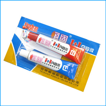 AB Glue Heavy Body Structure Acrylic Ornament Adhesive Metal Plastic Epoxy Resin AB Glue Manufacturer цена 2017
