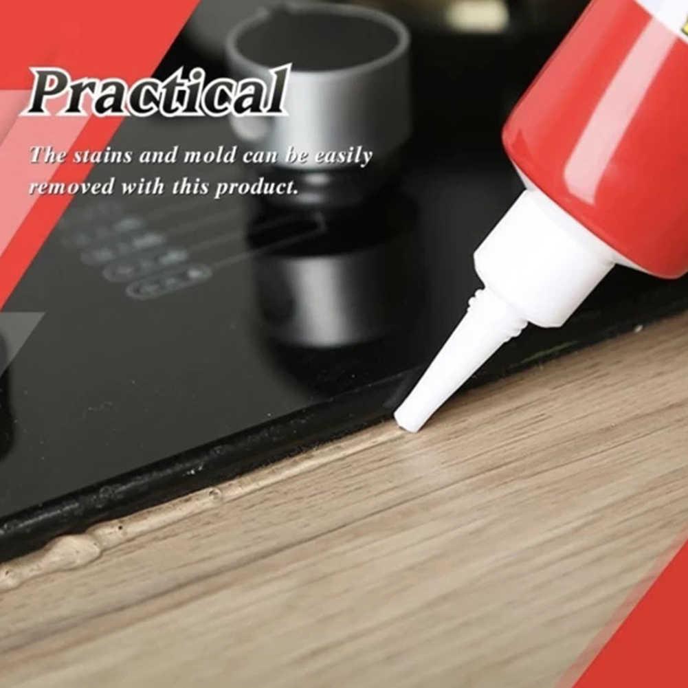 Gel removedor de molde para parede, ferramenta multifuncional para limpeza de casa, piso, banho, anti-odor, limpeza profunda de porcelana