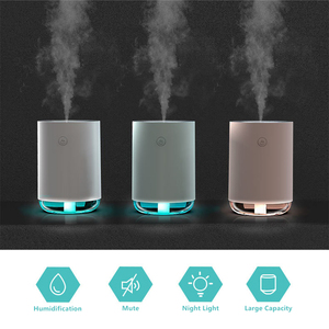255ML Air Humidifier Aroma Essential Oil Diffuser Mini Mist Spray With LED Night Lamp Electric Aromatherapy Liquid Air Freshener