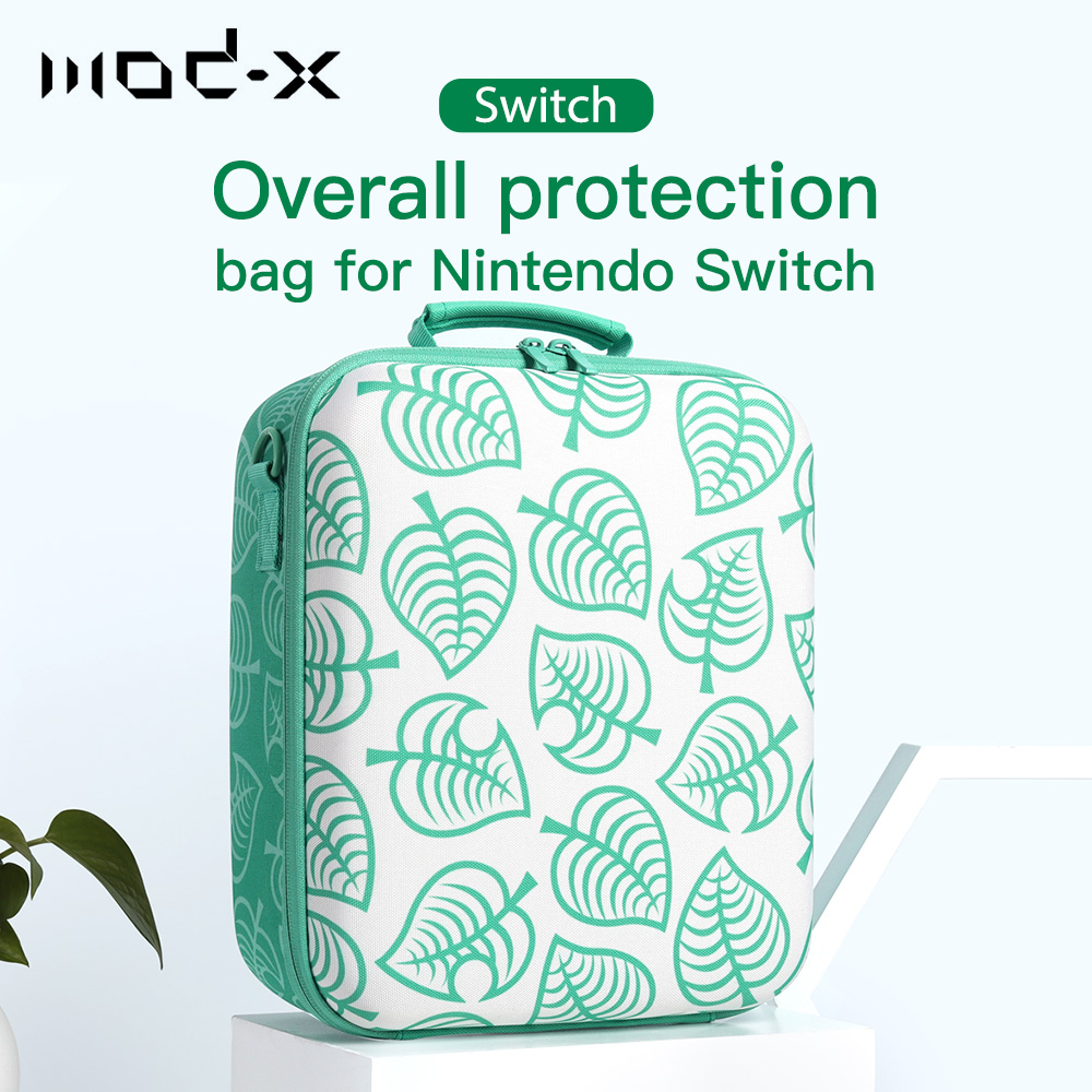 Mod-x for Nintendo Switch Bag Animal Crossing Nintendoswitch Nintend Switch NS Travel Case Controller Hard Carry Portable Pouch