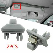 Комплект из 2 предметов, на солнцезащитный козырек, Прямая поставка Porpor Booya солнцезащитный щиток для салона крюк зажим Кронштейн для Audi A1 A3 A4 ...