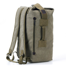 Large Capacity Rucksack Men travel pack backpack Mountaineering outdoor hiking Luggage Canvas Bucket Shoulder sport Bag for male
