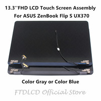 FTDLCD 13.3'' FHD LCD Display Touch Screen Assembly For ASUS ZenBook Flip S UX370 UX370U UX370UAR UX370UA XH74T BL