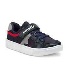 FLO TORIAN Navy Blue Male Child Sneaker Shoes KINETIX