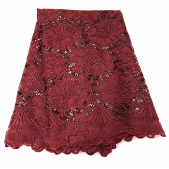 Top Sale French Mesh Milk Silk Lace Fabric Latest Soft Milk Silk African Lace Fabric With sequins For Nigerian Dress Sewing