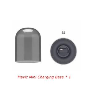Image 2 - Mavic بطارية صغيرة قاعدة شحن شاحن المحمولة ل DJI Mavic بطارية توصيل خارجي صغير اكسسوارات ناقوس زجاجي USB مغناطيسي صغير جزء