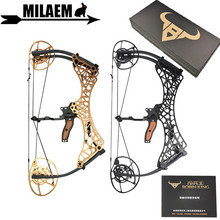 Archery Compound Bow Fully Adjustable 40-70lbs/45-75lbs/55-85lbs Dual Cam Compound Bow IBO 350fps Outdoor Shooting Accessories archery compound bow fully adjustable 40 70lbs 45 75lbs 55 85lbs dual cam compound bow ibo 350fps outdoor shooting accessories