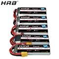 Аккумулятор HRB 1800 мАч 2S 3S Lipo 7 4 V 11 1 V XT60 T Deans 50C 14 8 V 18 5 V 22 2 V 4S 6S RC детали для дрона Mjx Bugs