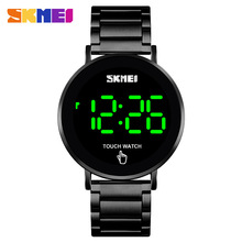 Digital Watches Touch-Screen Outdoor Sports Waterproof Mens New-Fashion LED SKMEI Montre