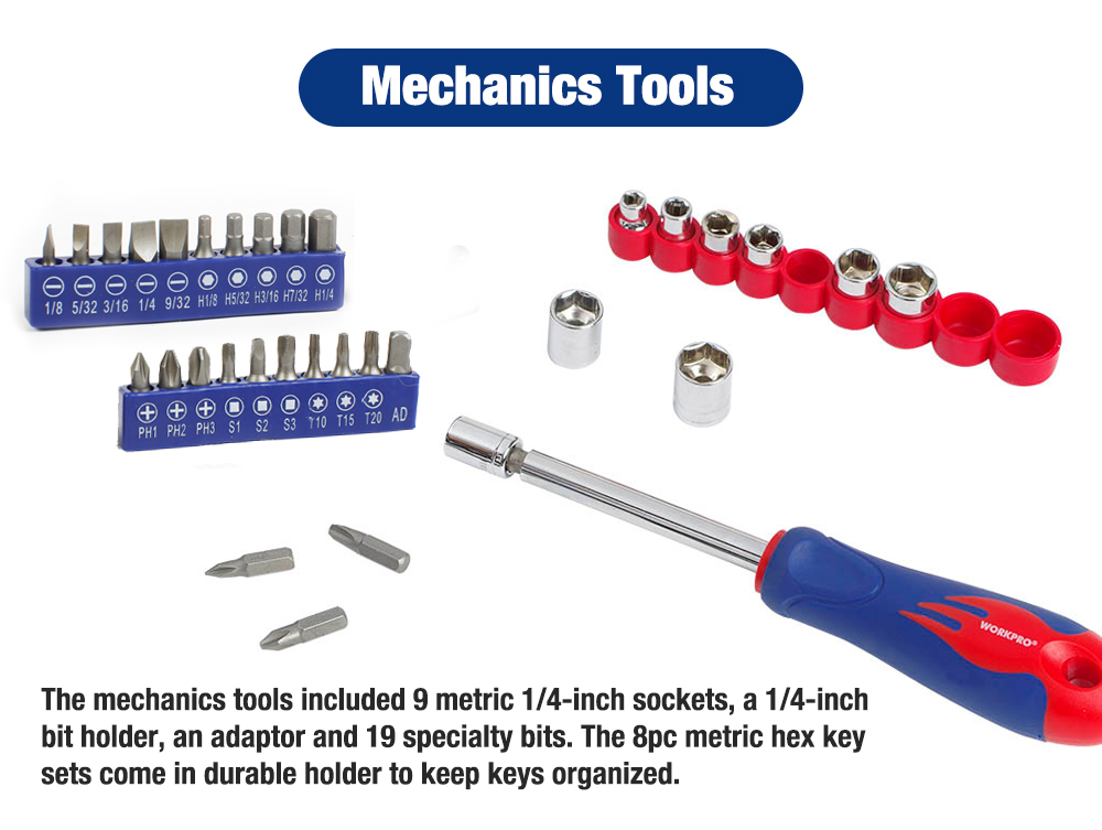 WORKPRO Mechanics Tools