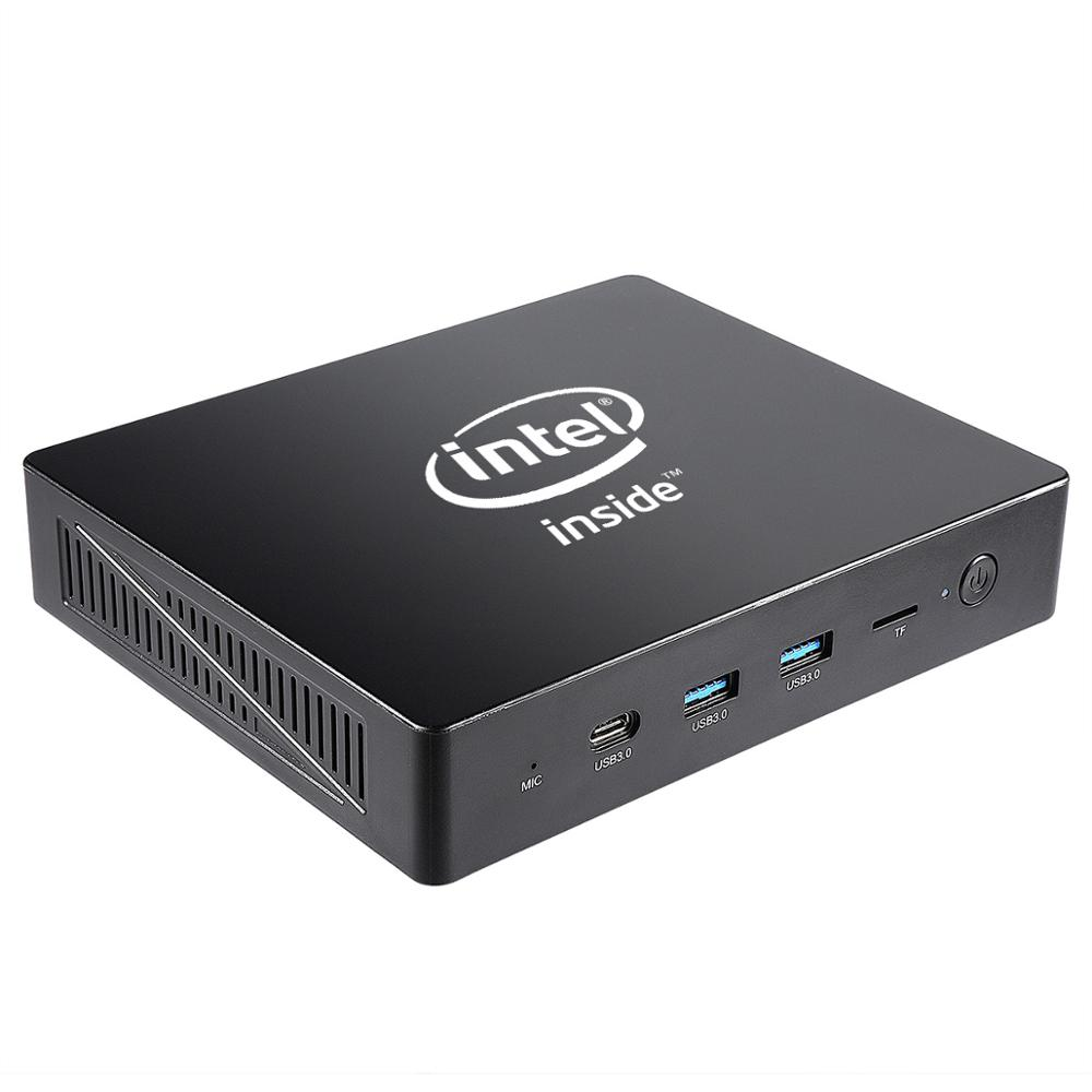 MA01 Apollo Lake Celeron J3455 Windows10 Mini Pc LPDDR4 4G 64G Support M.2 HDD 1000M Lan Windows 10 Mini Computer