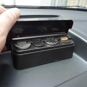 Image 3 - 車の主催者ロールスロイスプラスチックポケットテレスコピックダッシュコインケース収納ボックスホルダーコンテナ自動車コインオーガナイザーアクセサリー