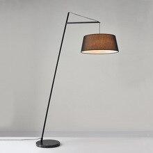 Напольный светильник в скандинавском стиле, постмодерн, для гостиной, фурнитура, художественный дизайн, для примера, для комнаты, торшер, голова кровати