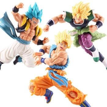 Bola de Dragón SUPER Saiyan Broly z-battle Gogeta Son Goku PVC figura de acción modelo coleccionable juguete