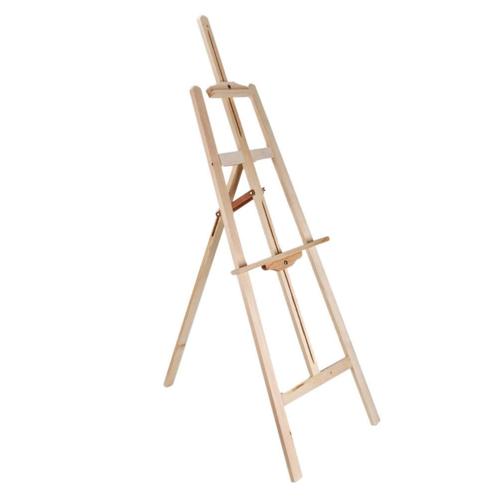 120cm Highth Durable Artist Wood bracket Easel or table top drawing sketching or painting Holder Tool