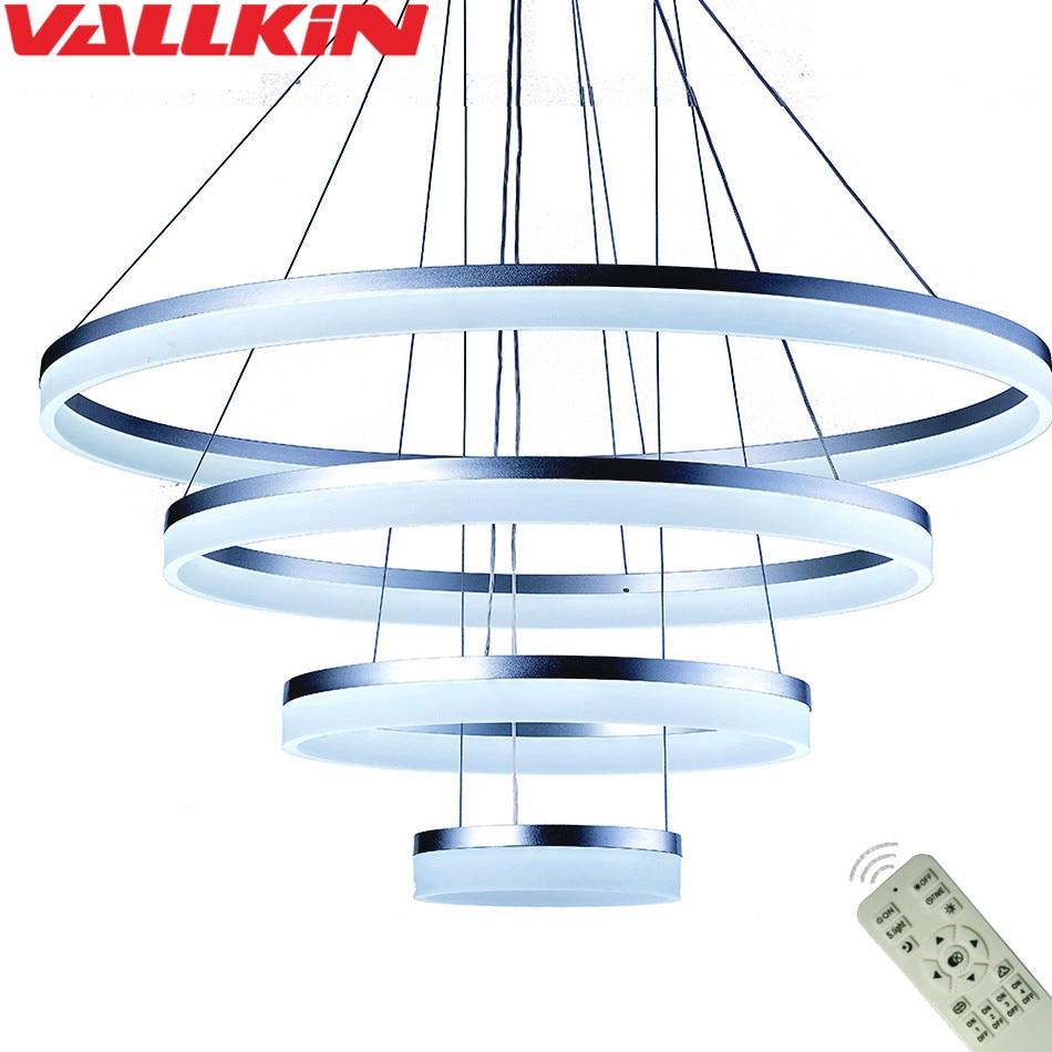 LED Acryl Pendelleuchte Dimmbarer Kronleuchter LED Moderne - Innenbeleuchtung