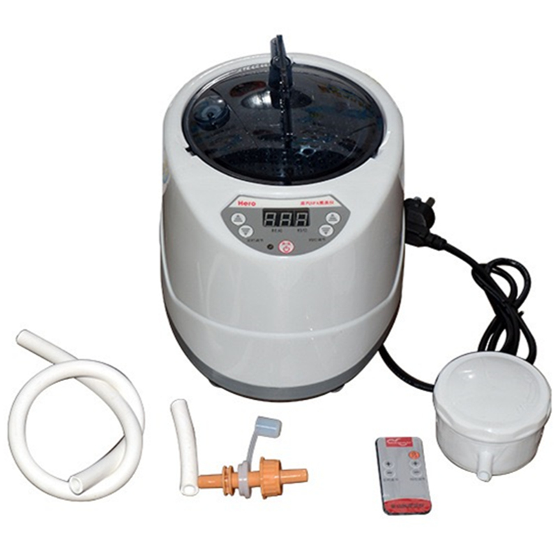 Sauna Steam Generator 2L Fumigation Machine Home Steamer Steam Generator for Sauna Kits Spa Tent Body Therapy EU or US Plug