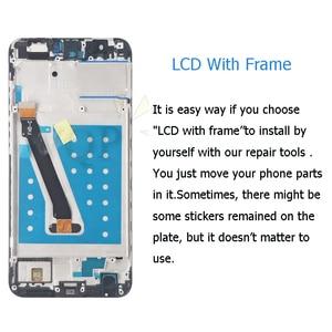 Image 3 - 화웨이 p 스마트 lcd 디스플레이 용 프레임 fig lx1 l21 l22 스크린 교체로 7s 2017 터치 스크린 디지타이저 어셈블리 즐기기
