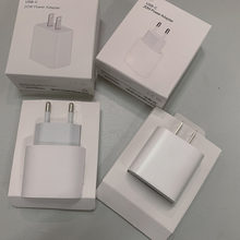 10pcs/lot 20w PD Charger Fast Charging Original EU US Plug For Phone 12 pro max 11 Pro XS XR 12 Mini With Retail Packaging